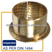 FB090 Bronze wrapped bush,flange bushing bearing