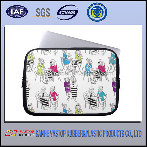 Colorful factory price neoprene 15.6 inch laptop sleeve