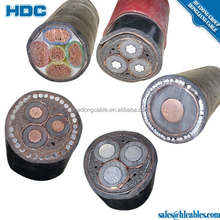 double steel taped armored power cable pvc cable dog cable