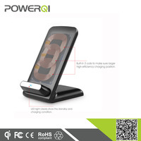 2015 Powerqi supply qi certificated wireless charging dock 3 coils for Samsung Galaxy Note 2