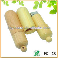 eco-friendly wood necklace usb flash memory drive