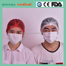 Dressings and Care For Materials Type and Medical Material custom PP SMS Wholesale mop cap mob head hair cover net clip cap
