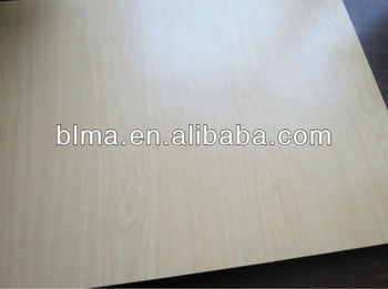 White Birch Uv Plywood /mositure Resistance Uv Plywood For Cabinets