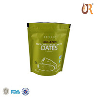 Compost food grade plastic ziplock bag poly zip bag for food packaging