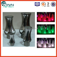 Stainless steel 304 China water fountain landscape serac cascade fountain
