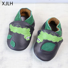 New Products Safety Item Fancy Animal Leather baby shoes