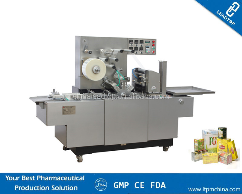 Automatic Tobacco Box Cellophane Wrapping Machine