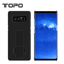 2017 Factory Price Case Note 8, 2 in 1 PC Shockproof Kickstand phone cover for Samsung Note 8
