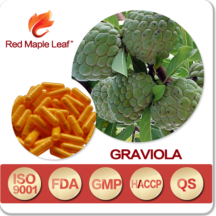 Natural Soursop Apple Leaves Capsules, Tablets, Softgels, pills, supplement - Manufacturer, Price, OEM, Private Label