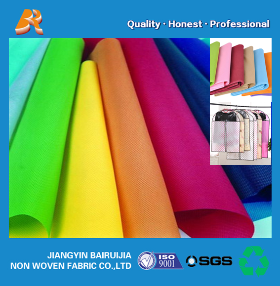 suit bag raw materials pp non woven fabric