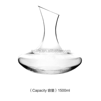 as04dc150 vrac verre decanter 1500 ml cristal pas cher unique vin decanter pour le vin rouge. Black Bedroom Furniture Sets. Home Design Ideas