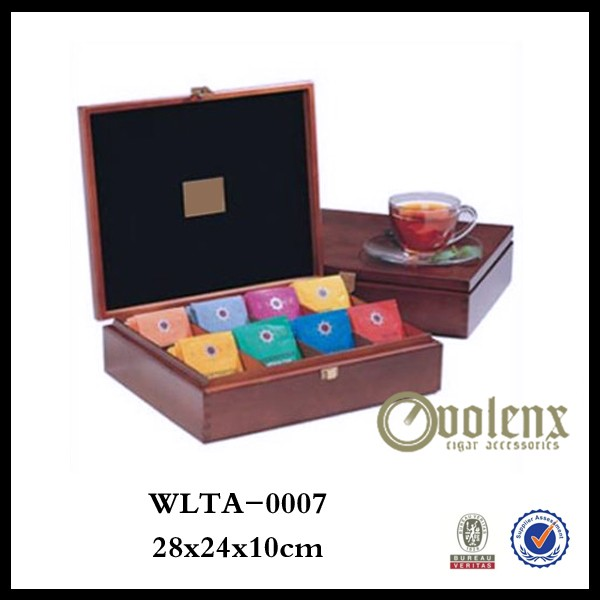 Unfinish Facotry wooden empty tea box