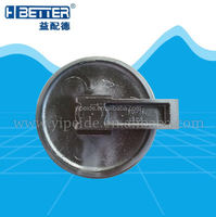 Cater e320 e240 front idler/idler excavator parts spare parts, cater series undercarriage parts