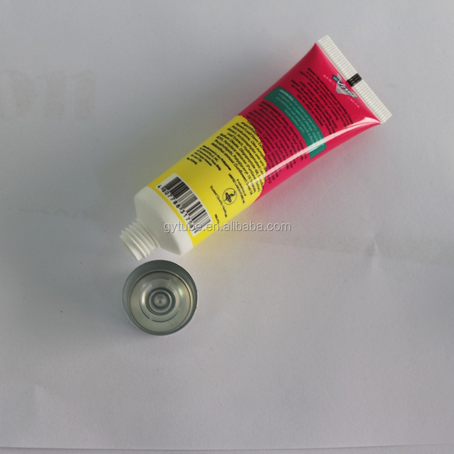 150ml FDA Offset Printing plastic tube for crafts packaging