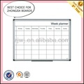 Supply wall mounting magnetic board calendar with marker