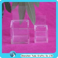 6x6x6 8x8x8 10x10x10 clear candy box plexiglass favor box wedding favor acrylic box