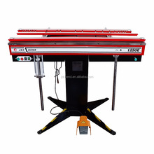 Magnetic sheet metal bending machine with optional accessories
