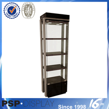 2014 new style upscale glass display case parts