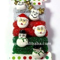 Father Christmas Ponytail Holder MY110913-7