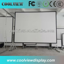 projector screen portable floor pull up screen