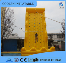 Inflatable climbing wall interactive sports games sale