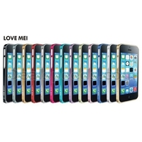 LOVE MEI 0.7 Ultra Thin Metal Bumper Hard Case for iPhone 5C