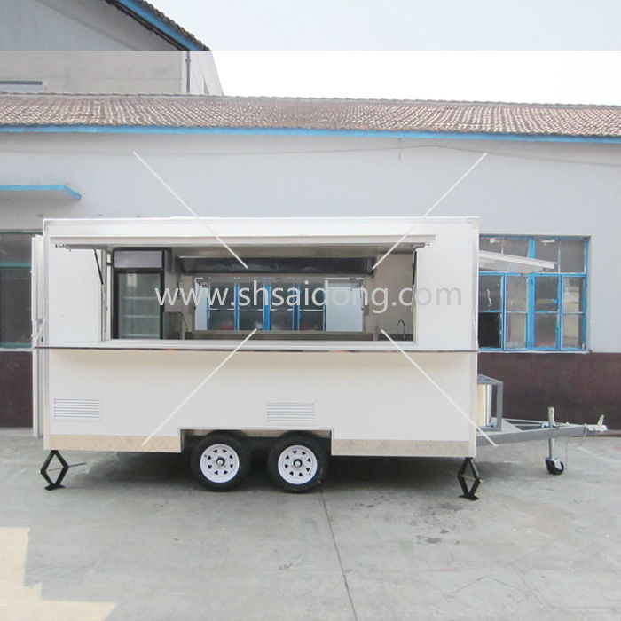 Customized Food Truck for Sale kebab van camper van, kiosk for ice cream food vendor mobile field kitchen