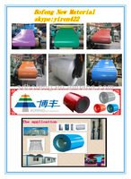 prepainted galvanized steel coil/Color Coated GI Sheet/Roof Tile Used color coated steel coil