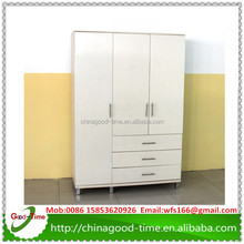 Modern KD design cheap wardrobe closet white