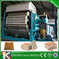 1000pcs/h high speed egg plate machine with dry system,paper egg tray making machine