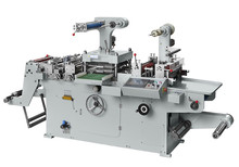TXM-320 Blank Printed Adhesive Label Die Cutting Machine