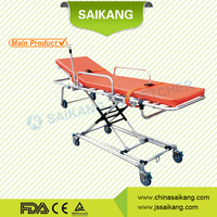 China Online Shopping Luxury Light Aluminum Folding Trolley