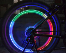 Diamond design in bicycle accessories light colorful energy conservation Hot Wheels lamp