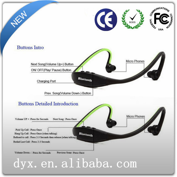 2014 new product free arabic music mp3 download bluetooth headphone
