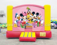 Factory direct sale inflatable Mickey Mouse bouncer castle Z1096