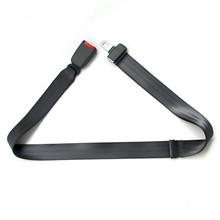 portable seat belt adjuster webbing belt