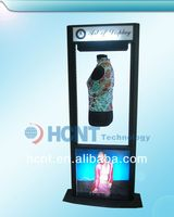 New Invention ! magnetic levitation led display rack for underwear, monokini bra swimwear