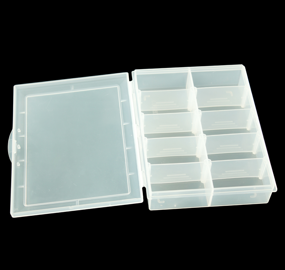 New Transparent Plastic Jewelry Makeup DIY Home Organizer Boxes