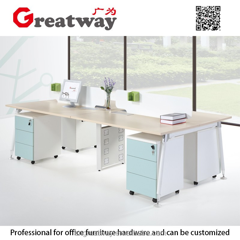 layout furniture 4 seater office wooden mail order computer desk products sale