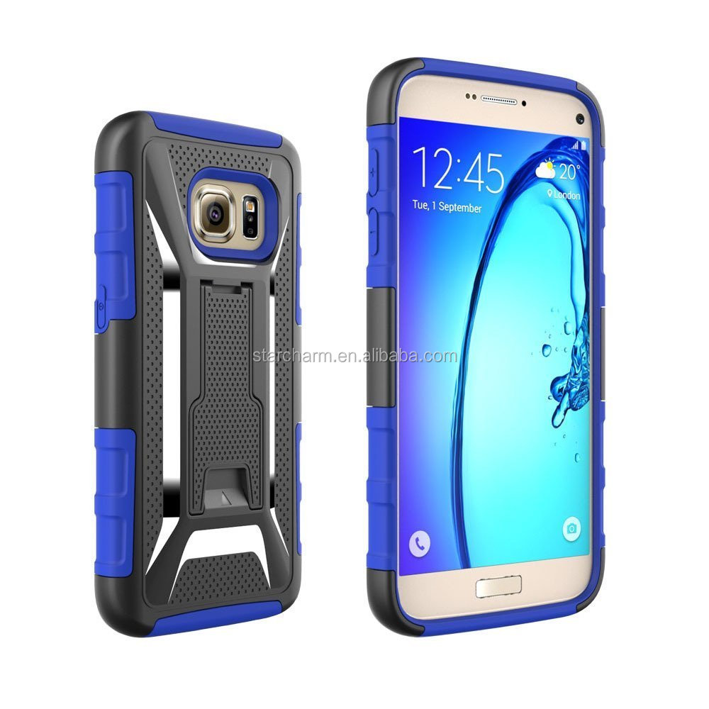 Sharewin PC TPU 3 in 1 Belt Clip Hard Heavy Duty Cell Phone r Case For Samsung Galaxy S 7