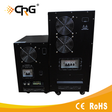 single phase 220v 10kva Power Supply 12V battery online ups