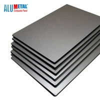 aluminum cladding price 6mm acm building material in Shanghai