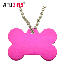 Blank Anodized Aluminum Dog Id Tag Pet Tag Pendant Wholesale For Dogs