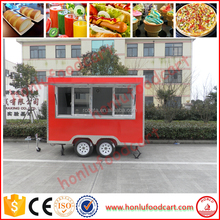 Hot Sale ice cream vans food truck for sale europe