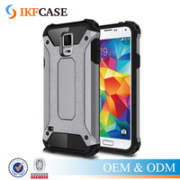 New Style Heavy Duty Armor Slim Hard Rubber Cover Silicone Phone Case for Samsung Galaxy S5 i9600 G900F G900A