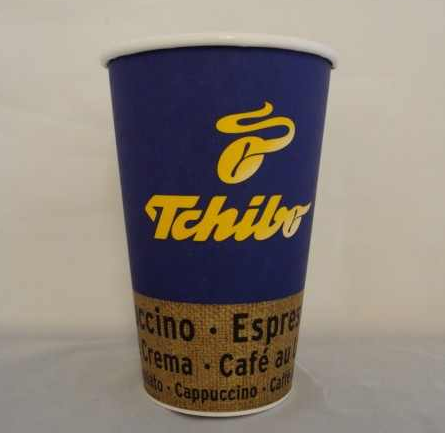 "Coffee to go Cup ""Hot Coffee"" 8oz 200ml 1000St paper cup without handle"