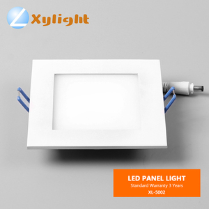 3w 4w 5w 6w 200x200mm cutout SMD ultra thin square surface mounted led ceiling panel light