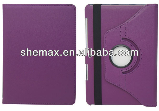 360 Degree Rotating Leather Case For Samsung Galaxy TAB 2 10.1 P5100