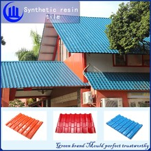SGS Certificated 4 Layer weatherproof ASA/PVC corrugated plastic roofing sheets