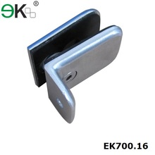 Stainless steel pool fence glass balustrade panel clamp